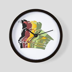 Great Zimbabwe 4 Wall Clock