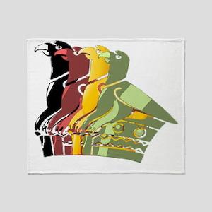 Great Zimbabwe 4 Throw Blanket