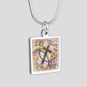 The Cross and the Fish. Necklaces