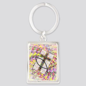 The Cross and the Fish. Keychains