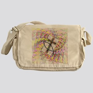 The Cross and the Fish. Messenger Bag