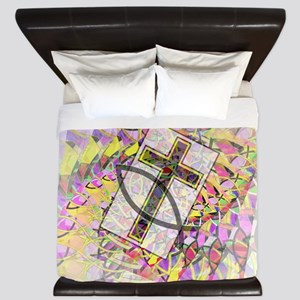 The Cross and the Fish. King Duvet