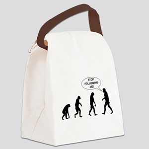 Stop Following Me! Canvas Lunch Bag