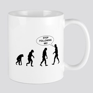 Stop Following Me! Mugs