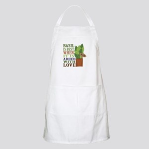 Basil with Love Apron