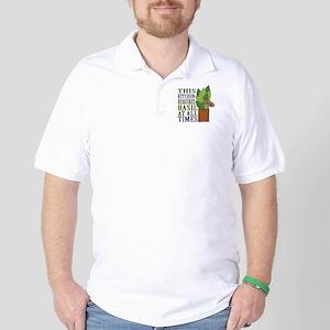 Requires Basil Golf Shirt