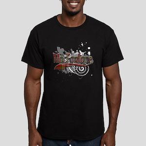 MacFarlane Tartan Grun Men's Fitted T-Shirt (dark)