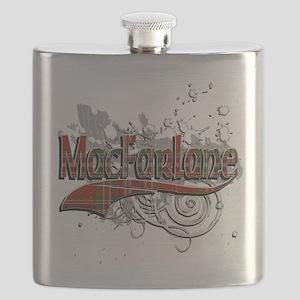 MacFarlane Tartan Grunge Flask