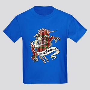 MacFarlane Unicorn Kids Dark T-Shirt