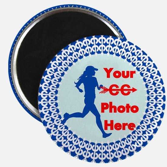 Cross Country Runner Photo Magnets