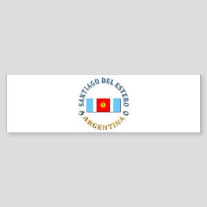 Santiago del Estero Bumper Sticker