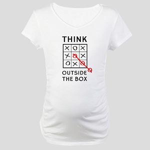 Think Outside The Box Maternity T-Shirt