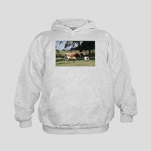 Longhorn Cow and Calf Sweatshirt