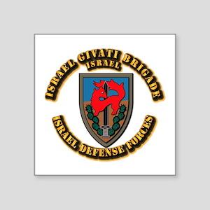 """Israel Givati Brigade Square Sticker 3"""" x 3"""""""