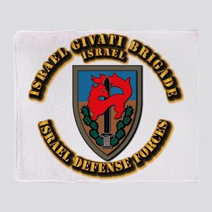 Israel Givati Brigade Throw Blanket
