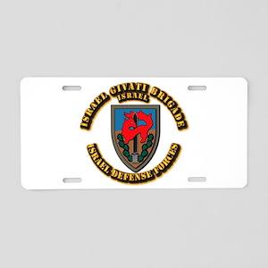 Israel Givati Brigade Aluminum License Plate