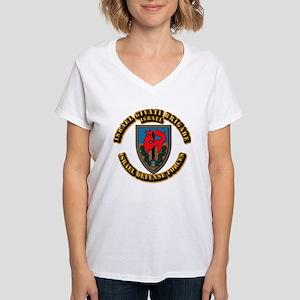 Israel Givati Brigade Women's V-Neck T-Shirt