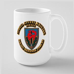 Israel Givati Brigade Large Mug