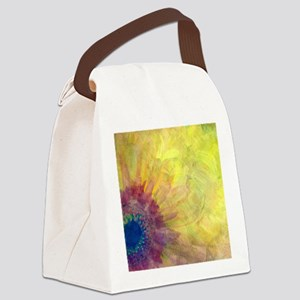 Gerbera Canvas Lunch Bag