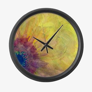 Gerbera Large Wall Clock
