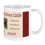 Milking Devon Banner Mugs