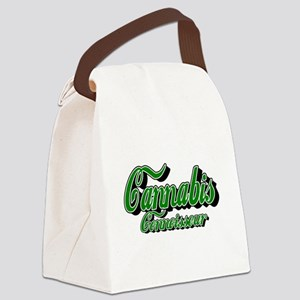 Cannabis Connoisseur Canvas Lunch Bag