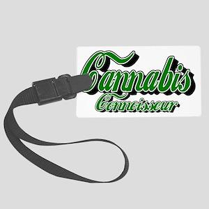 Cannabis Connoisseur Luggage Tag