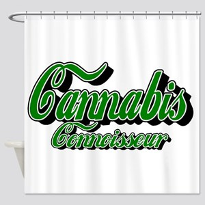 Cannabis Connoisseur Shower Curtain