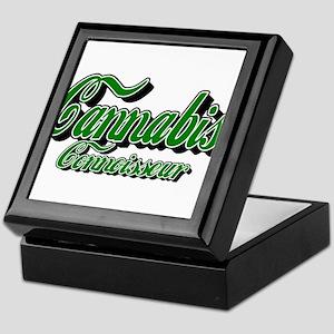 Cannabis Connoisseur Keepsake Box