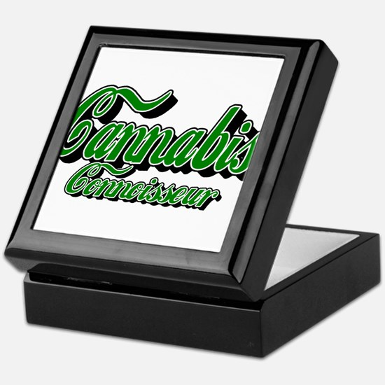 Cannabis Connoisseur Keepsake Box
