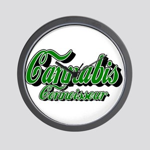 Cannabis Connoisseur Wall Clock
