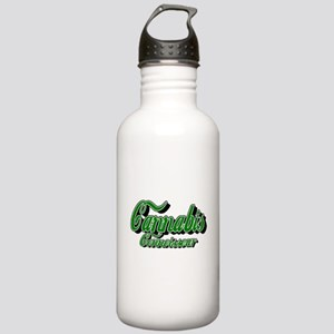 Cannabis Connoisseur Water Bottle