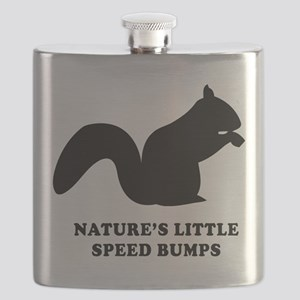 Nature's Little Speed Bumps Flask