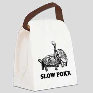 Turtle Slow Poke Canvas Lunch Bag