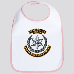 Israel - Police Hat Badge Bib