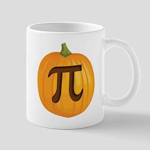 Halloween Pumpkin Pie Pi Mugs