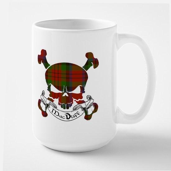 MacDuff Tartan Skull Large Mug