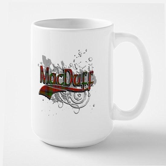 MacDuff Tartan Grunge Large Mug