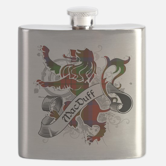 MacDuff Tartan Lion Flask