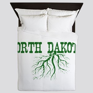 North Dakota Roots Queen Duvet