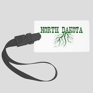 North Dakota Roots Large Luggage Tag