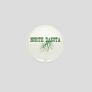 North Dakota Roots Mini Button