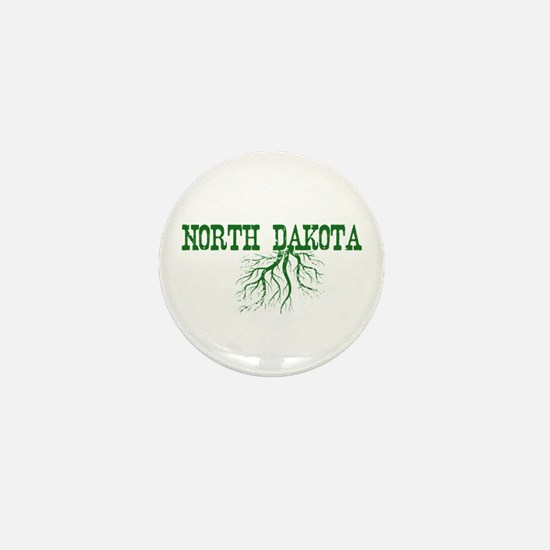 North Dakota Roots Mini Button