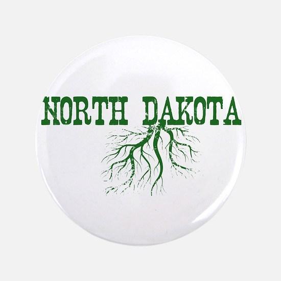 "North Dakota Roots 3.5"" Button"