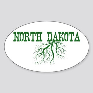 North Dakota Roots Sticker (Oval)