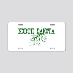 North Dakota Roots Aluminum License Plate