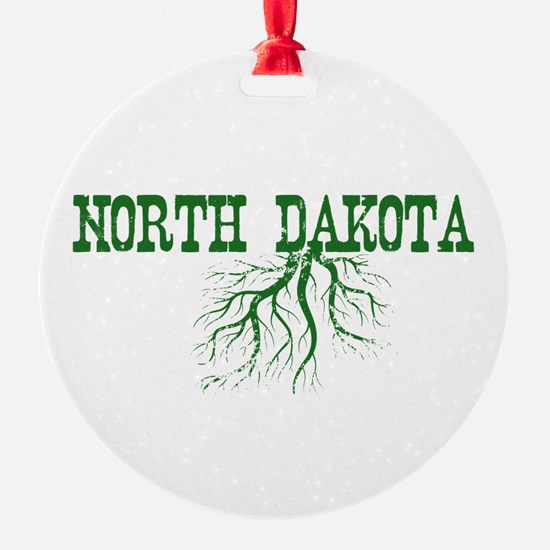 North Dakota Roots Ornament