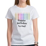 Birthday Candles Women's T-Shirt