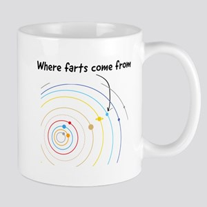 where farts come from Mugs