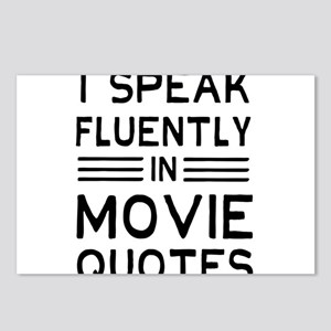 I Speak Fluently In Movie Quotes Postcards (Packag